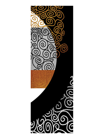 Meandering Swirls after Klimt Posters by Michael Timmons