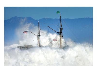 Oceans Fury Prints by Steve Munch