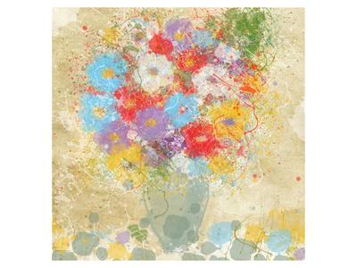 Bright Flowers II Prints by Irena Orlov
