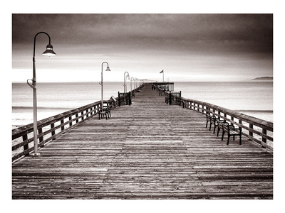 Endless Pier Posters by Steve Munch