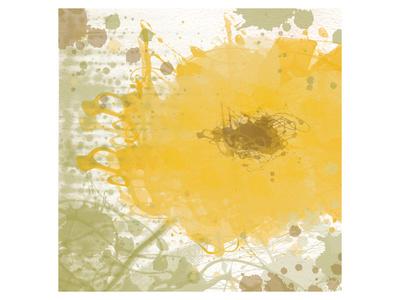 Modern Yellow Prints by Irena Orlov