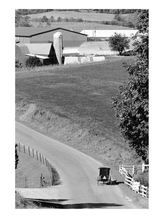 Farm Road, Ohio Posters