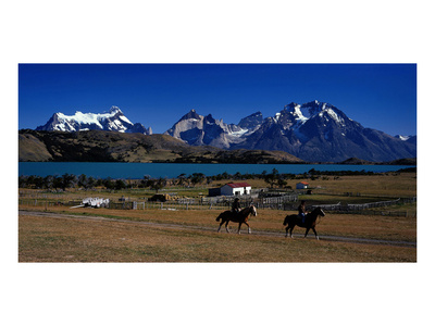 Laguna Verde Torres del Paine Posters