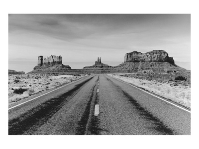 Road to Monument Valley, Arizona Posters