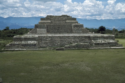 A Substructure on the East Side of the Main Plaza at Monte Alban Photographic Print by Macduff Everton