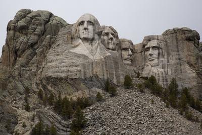 Mount Rushmore in South Dakota's Black Hills Photographic Print by Steve Winter