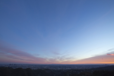 Los Angeles at Sunset Photographic Print by Steve Winter