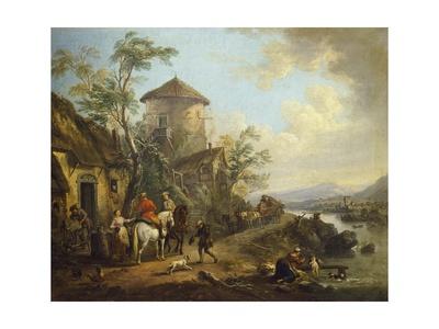 France, Nightcap Giclee Print by Jean Baptiste Martin