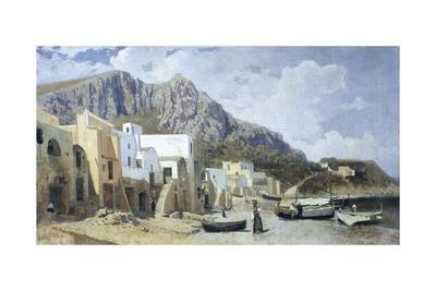 Capri, 1866 Giclee Print by Guglielmo Ciardi
