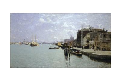 Morning on Giudecca, 1892 Giclee Print by Guglielmo Ciardi