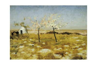 Spring, 1883 Giclee Print by Giuseppe De Nittis