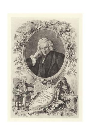 Laurence Sterne Giclee Print by Maurice Leloir
