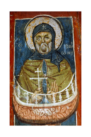 St Simeon the Stylite Giclee Print