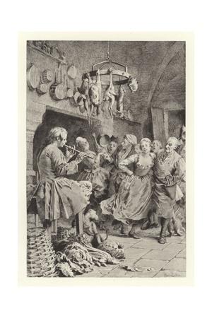 The Letter Giclee Print by Maurice Leloir