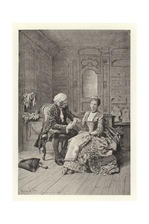 The Pulse Giclee Print by Maurice Leloir