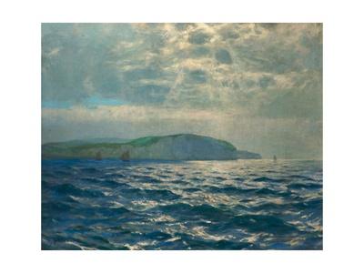 Off the Needles, Isle of Wight, C.1905 Giclee Print by Albert Julius Olsson