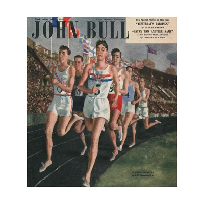 Front Cover of 'John Bull', July 1958 Giclee Print