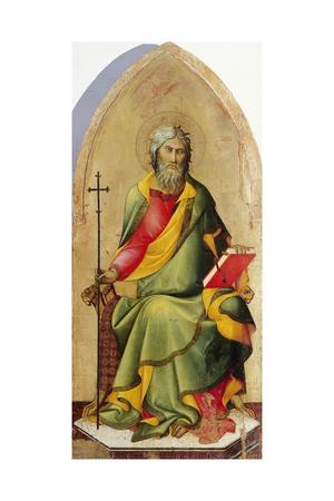 St Andrew Apostle Giclee Print by Lippo Memmi