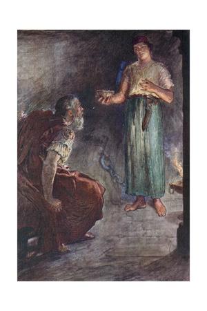 Philopoemen in Prison Giclee Print by William Rainey