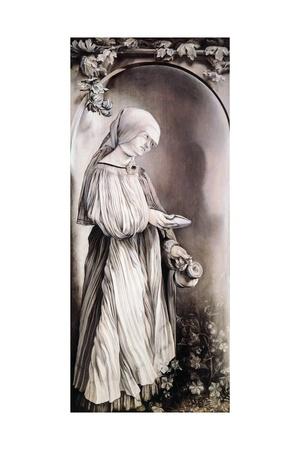 St Elizabeth, 1509-1511 Giclee Print by Matthias Grünewald