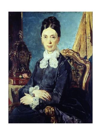 Portrait of Relative Giclee Print by Giacomo Favretto