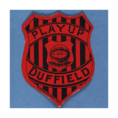 Play Up Duffield Giclee Print!