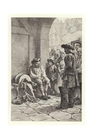 The Dead Ass Giclee Print by Maurice Leloir