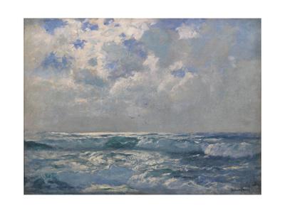 The Silver Sea Giclee Print by Albert Julius Olsson
