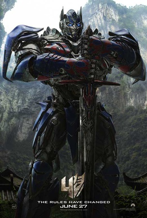 Tranformers: Age of Extinction Masterprint
