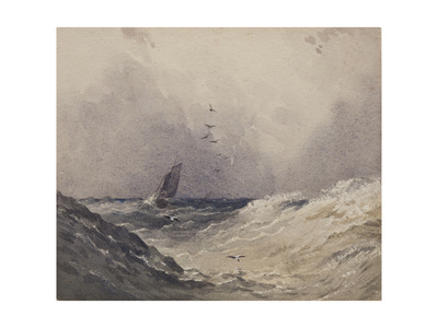 Sailing Boat before a Storm, C.1830 Giclee Print by Anthony Vandyke Copley Fielding