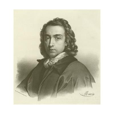 Anton Raphael Mengs, German Artist Giclee Print by Anton Raphael Mengs