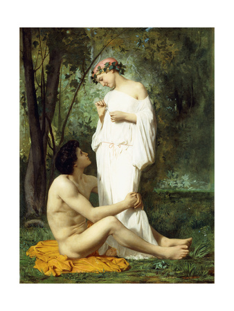 Idyll, 1851-52 Giclee Print by William Adolphe Bouguereau