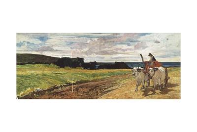 Rural Landscape, 1867 Giclee Print by Giovanni Fattori