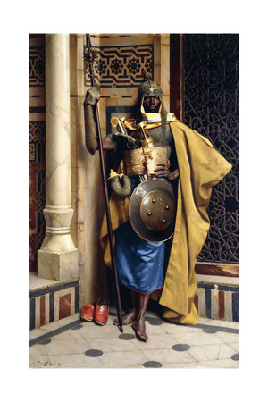 The Palace Guard, 1892 Giclee Print by Ludwig Deutsch