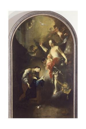 Annunciation Giclee Print by Franz Anton Maulbertsch