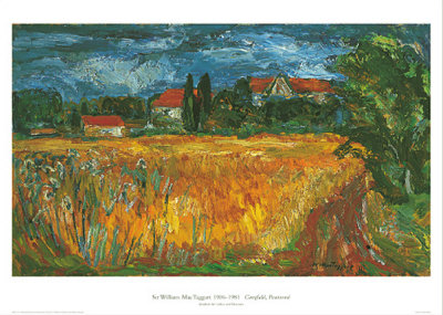 Cornfield, Ponterme Prints by Sir William Mac Taggart