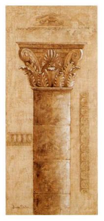 Sepia Column Study III Prints by Javier Fuentes