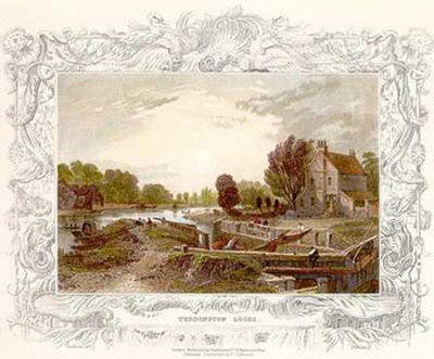 Thames River  1827 II Prints by William Tombleson