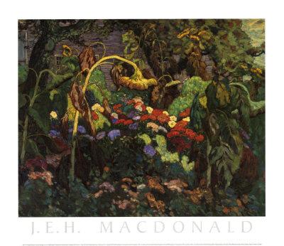 Tangled Garden Posters av J. E. H. MacDonald