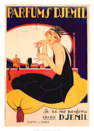 Parfums Djemil Art Print