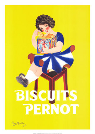 Biscuits Pernot Art by Leonetto Cappiello