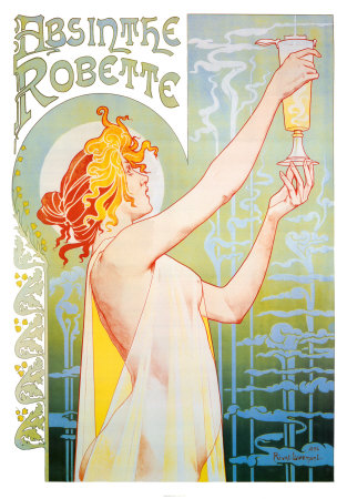 Absinthe Robette Art by Privat Livemont at AllPosters.