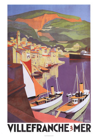 Villefranche Plakater af Roger Broders