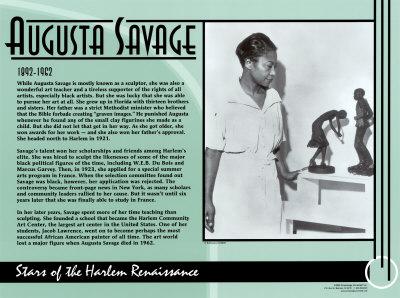 Augusta Savage Poster by Augusta Savage