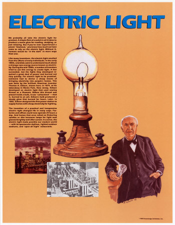 Electric Light Poster