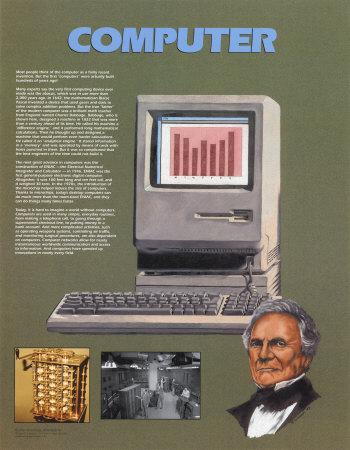 The Computer Prints