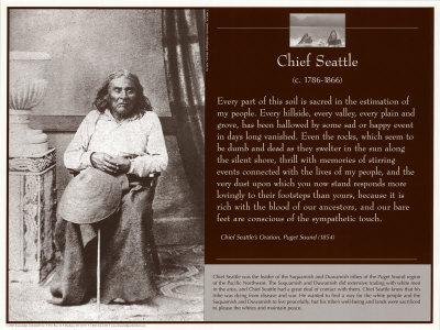 Chief Seattle Print