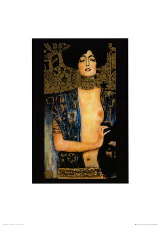 Judith Arte por Gustav Klimt