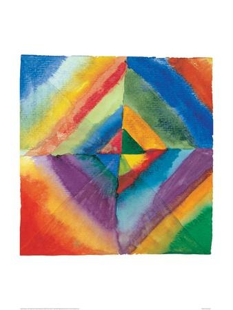 Fargestudier color studies kunsttrykk