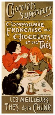 Chocolat Art by Théophile Alexandre Steinlen
